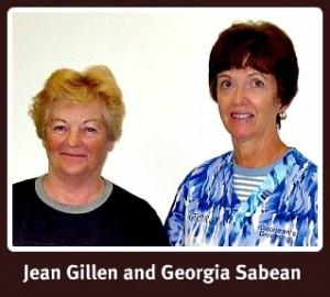 Jean Gillen and Georgia Sabean, original owners, Georjeans Pet Grooming, Warrenton VA