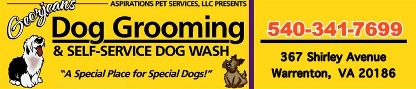 Dog grooming and self-service pet wash Warrenton VA