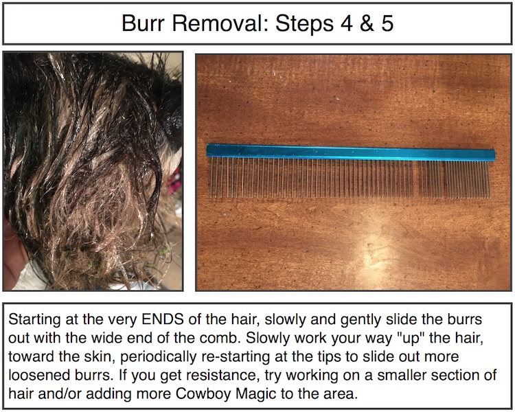Burr Removal Steps 4-5